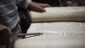 reading scrolls